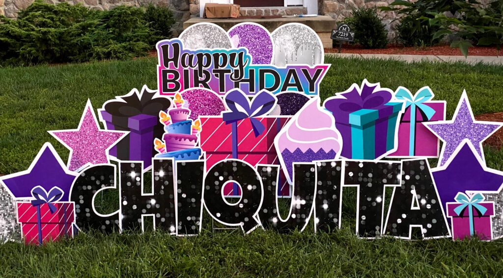 clinton maryland birthday yard greetings