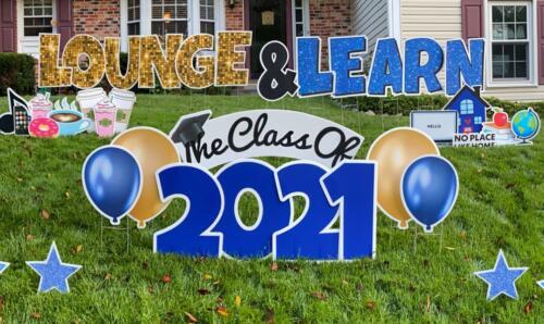 Lounge and Learn Yard card back to school burke VA