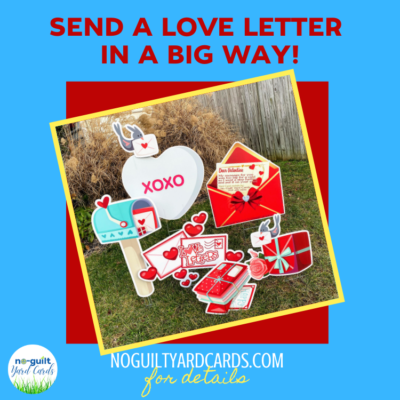pop up valentines yard cards springfield va