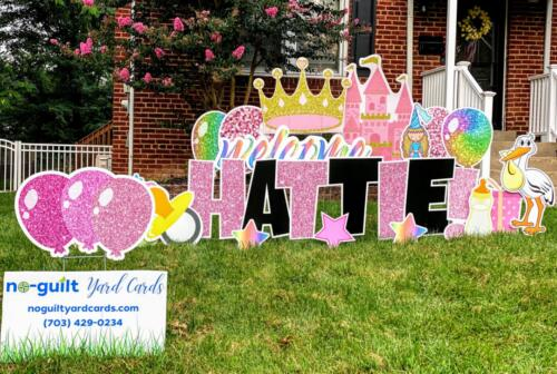 yard card birthday greeting falls church VA