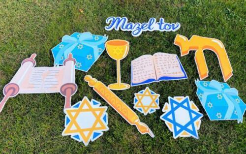 bar and bat mitzvah celebration flair