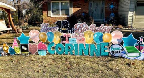 birthday yard signs burke va