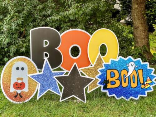 boo your neighbors with yard cards west springfield va
