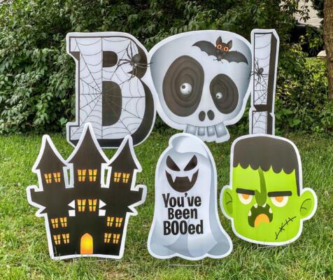 boo your neighbors with yard cards burke va