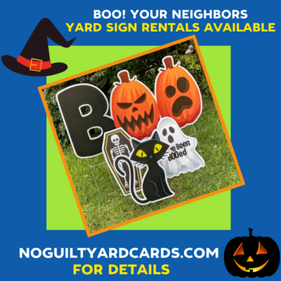boo your neighbors with yard cards springfield va