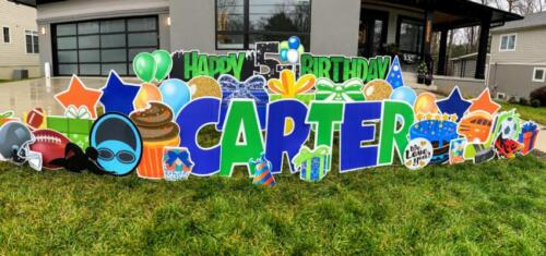 carter yard sign falls church va
