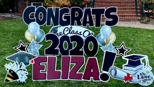 congrats graduation yard sign burke va