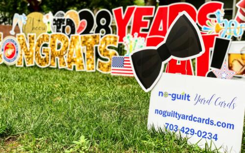 retirement yard cards burke VA