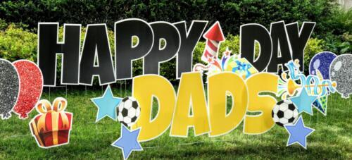 fathers day yard card burke virginia