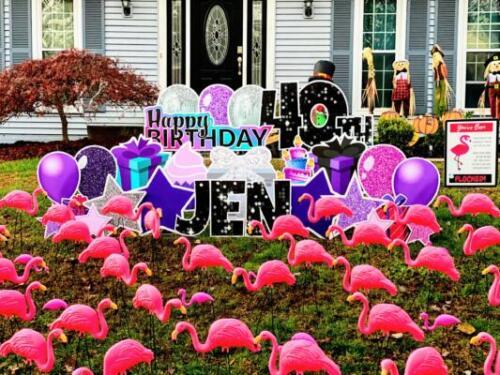 flamingo flock your yard burke va