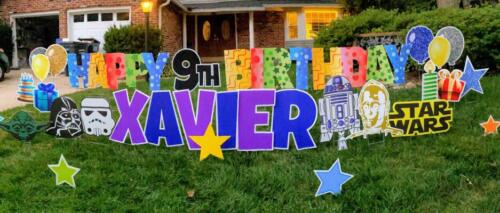 northern virginia yard signs and yard cards happy birthday