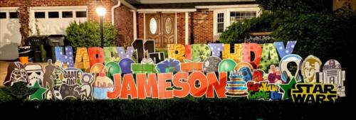 jameson happy birthday yard card alexandria va