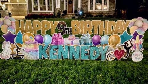 kennedy birthday yard sign alexandria va