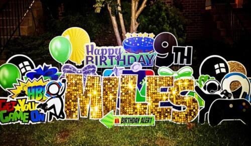 birthday yard signs in burke va