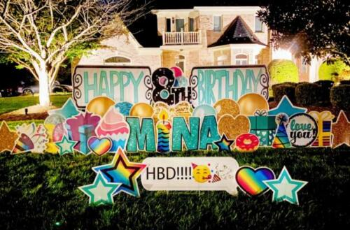 birthday yard signs in springfield va