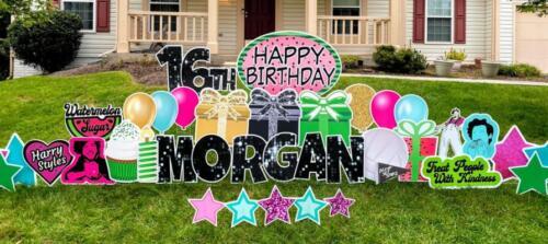 morgan watermelon sugar happy birthday yard card burke va