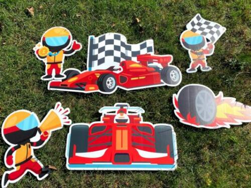 race car theme