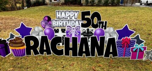 rachana birthday yard card fairfax station va