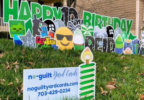 springfield va birthday yard signs