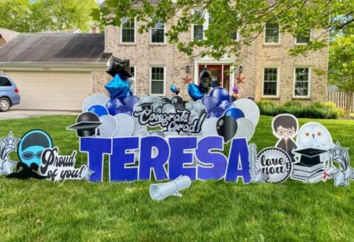 teresa graduation yard card fairfax va