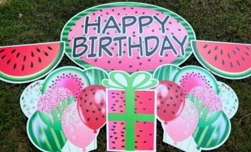 watermelon flair yard cards burke va