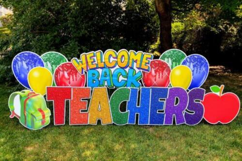 welcome back teachers