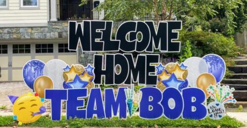 welcome home yard card arlington va