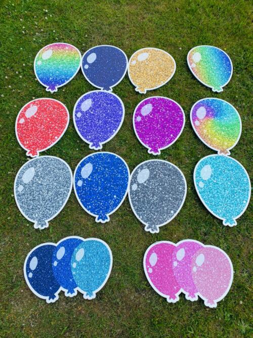 balloon signs
