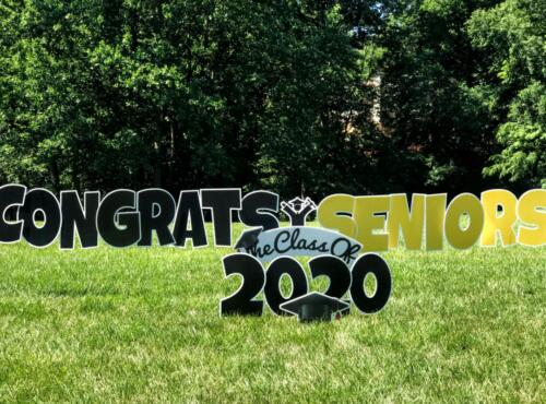 class congratuations signs