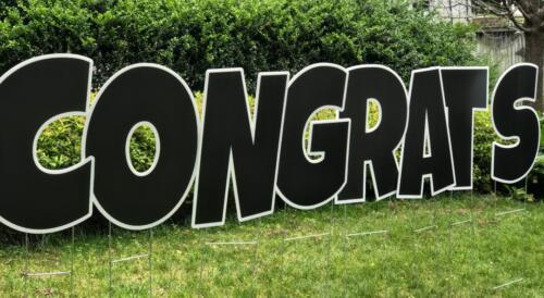 congrats sign 2